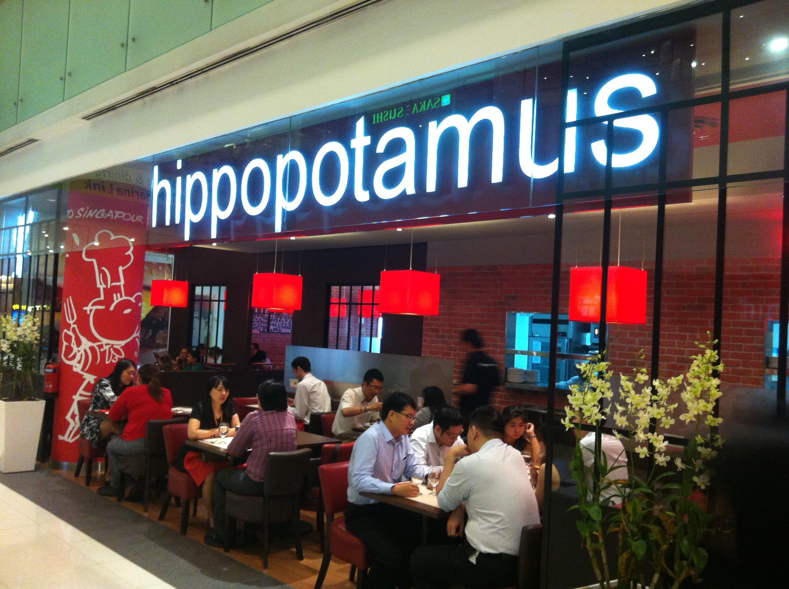 Bon appetit hippopotamus - Hippopotamus restaurant grill ...