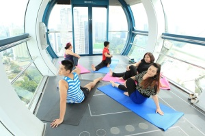 Pamper your mothers to the highest level atop the Singapore Flyer this Mother's Day Weekend at the Mind Body Spirit Festival