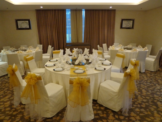They have private rooms for small wedding reception or better still book the entire restaurant for your wedding.