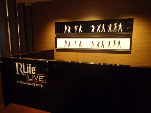 After a long day's work, it's time to rewind at RLife.