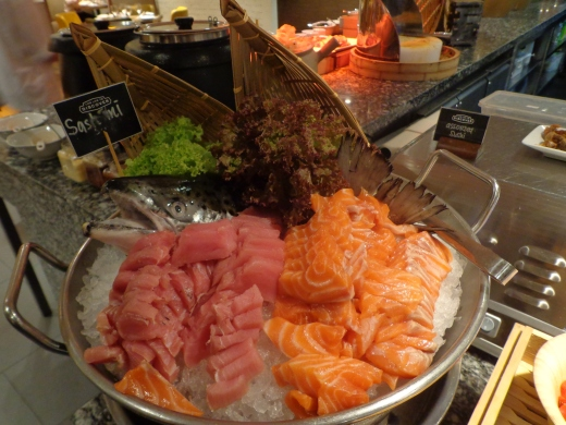 I have never seen so much sashimi in my life before!