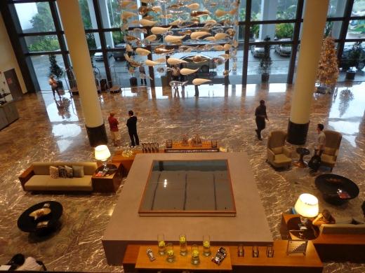 Lobby - the grand entry