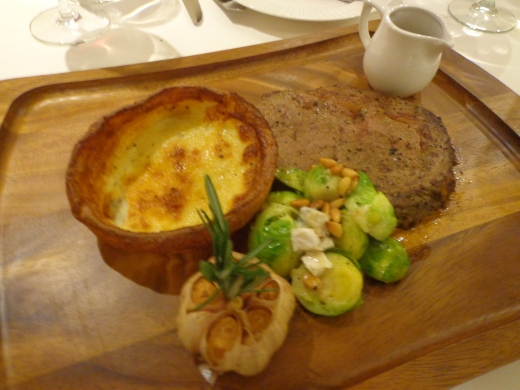 Roast Prime Rib (Classic Cut, 280g) at $58. I would highly recommend the Braised Beef Short Rib ($36) instead, the latter is more tender. Photo not available.