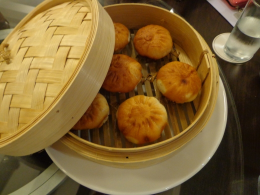 Chili Crab Bao (3 for $8), available during lunch only