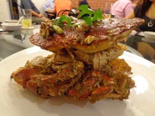 Scottish Brown Crabs in White Pepper ($58 per kg)
